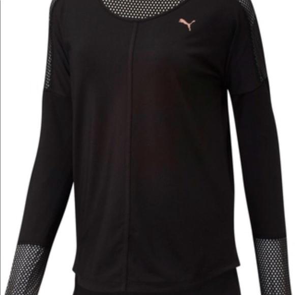 b7559327bf4 Puma Tops | Nwt Womens Explosive Long Sleeve Shirt | Poshmark